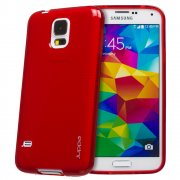 TPU Gel Case for Samsung Galaxy S5 Red
