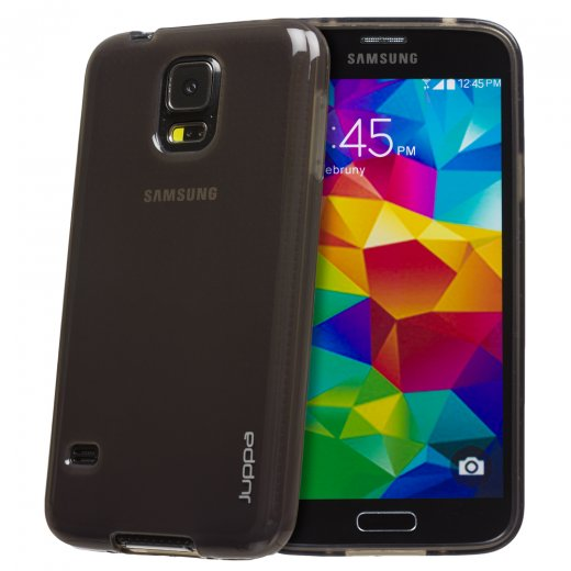 Juppa TPU Gel Case for Samsung Galaxy S5 Smoke