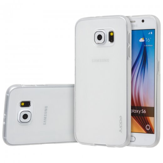 "Juppa TPU Gel Case for Samsung Galaxy S6 5.1"" Clear"