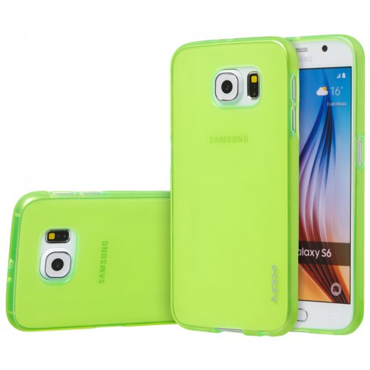 "Juppa TPU Gel Case for Samsung Galaxy S6 5.1"" Green"