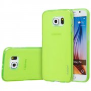 "TPU Gel Case for Samsung Galaxy S6 5.1"" Green"
