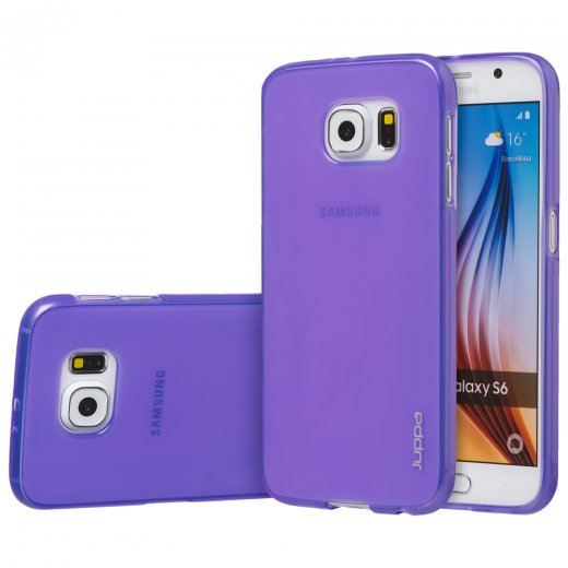 "Juppa TPU Gel Case for Samsung Galaxy S6 5.1"" Purple"