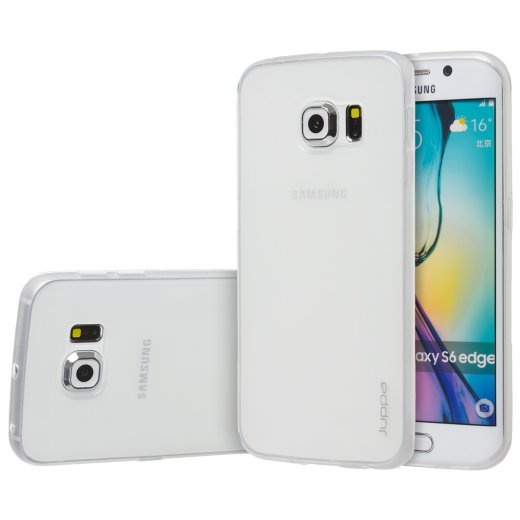 "Juppa TPU Gel Case for Samsung Galaxy S6 Edge 5.1"" Clear"