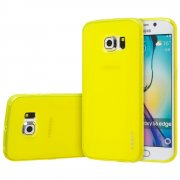 "TPU Gel Case for Samsung Galaxy S6 Edge 5.1"" Yellow"