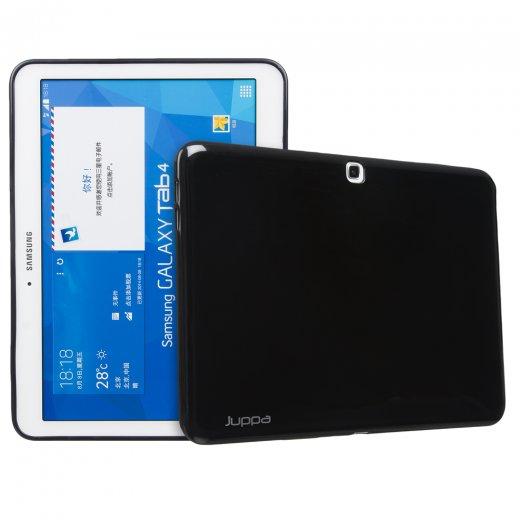Juppa TPU Gel Case for Samsung Galaxy Tab 4 10.1 Black