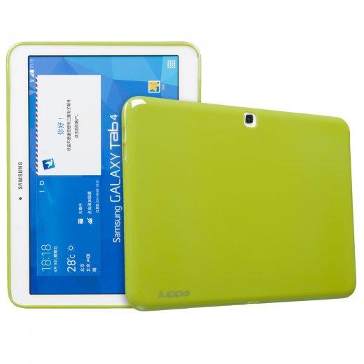 Juppa TPU Gel Case for Samsung Galaxy Tab 4 10.1 Green