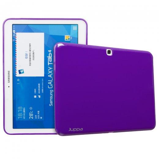 Juppa TPU Gel Case for Samsung Galaxy Tab 4 10.1 Purple