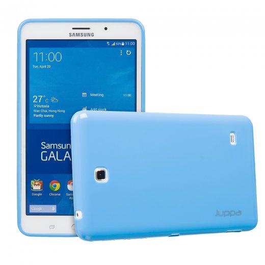Juppa TPU Gel Case for Samsung Galaxy Tab 4 7.0 Blue