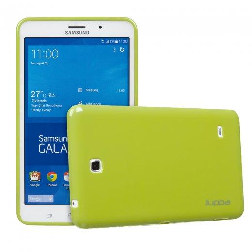the latest 09cf7 6281a Juppa TPU Gel Case for Samsung Galaxy Tab 4 7.0 Green