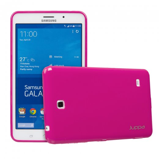 Juppa TPU Gel Case for Samsung Galaxy Tab 4 7.0 Pink