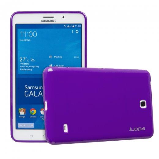 Juppa TPU Gel Case for Samsung Galaxy Tab 4 7.0 Purple