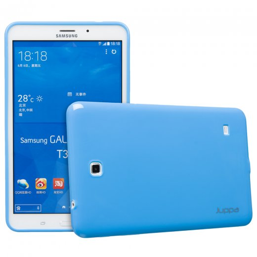 Juppa TPU Gel Case for Samsung Galaxy Tab 4 8.0 Blue