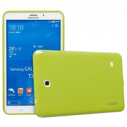 Juppa TPU Gel Case for Samsung Galaxy Tab 4 8.0 Green