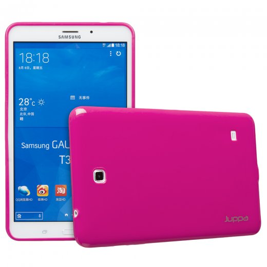 Juppa TPU Gel Case for Samsung Galaxy Tab 4 8.0 Pink