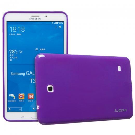 Juppa TPU Gel Case for Samsung Galaxy Tab 4 8.0 Purple