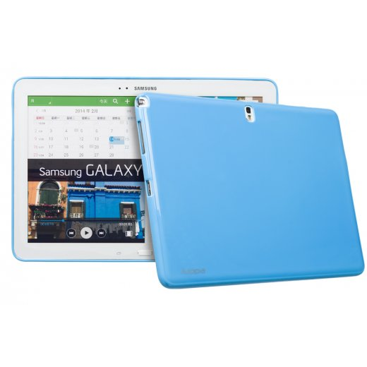 Juppa TPU Gel Case for Samsung Galaxy Tab Pro 12.2 Blue