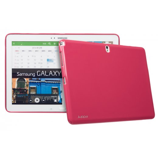 Juppa TPU Gel Case for Samsung Galaxy Tab Pro 12.2 Pink