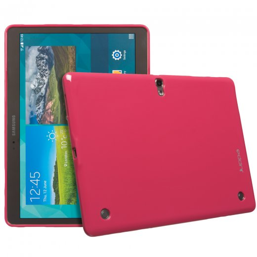 Juppa TPU Gel Case for Samsung Galaxy Tab S 10.5 Pink