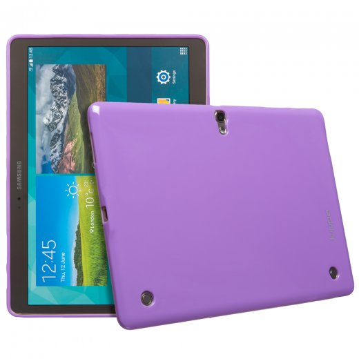 Juppa TPU Gel Case for Samsung Galaxy Tab S 10.5 Purple