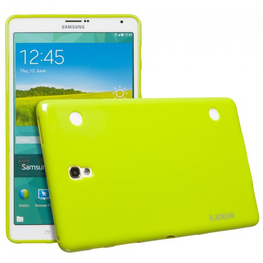 Juppa TPU Gel Case for Samsung Galaxy Tab S 8.4 Green