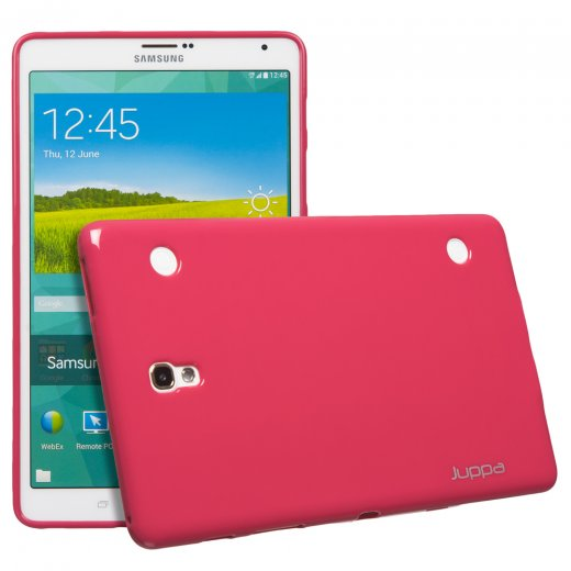 Juppa TPU Gel Case for Samsung Galaxy Tab S 8.4 Pink