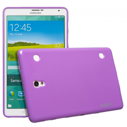 Juppa TPU Gel Case for Samsung Galaxy Tab S 8.4 Purple