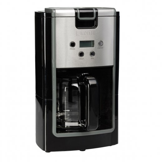 König 900W Coffee Maker Machine – Piano Black
