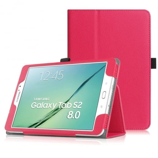 Leather Stand Case for Samsung Galaxy Tab S2 8.0""