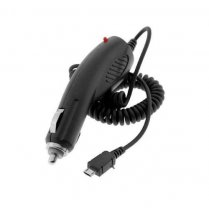 Micro USB In Car Charger Black