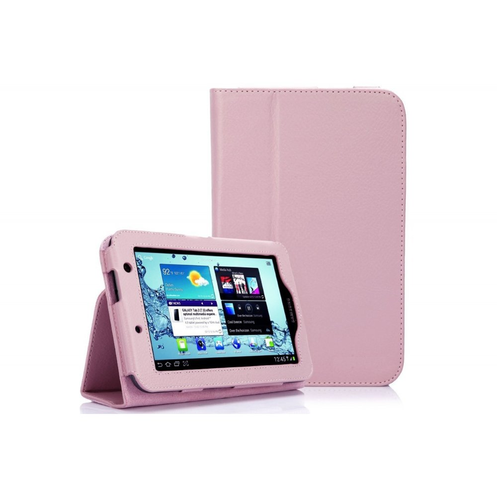 multi function leather stand case for samsung galaxy tab 2