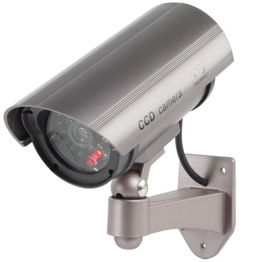 Outdoor Indoor CCTV Dummy Camera with Flashing LED