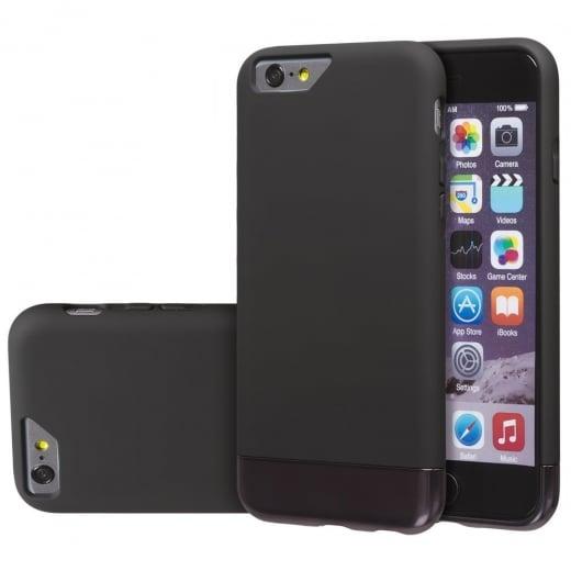 Slide On Dock Friendly Case for Apple iPhone 6 / 6s Black