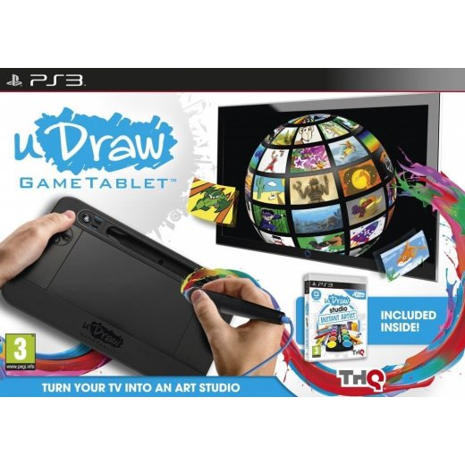 Sony PlayStation 3 Game & Tablet UDraw