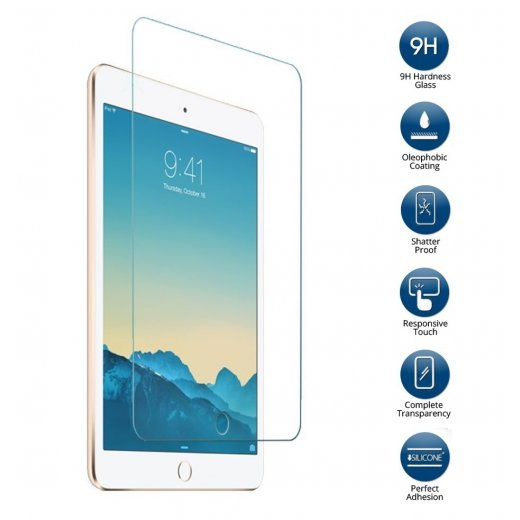 Tempered Glass for Apple Ipad Air 2 2nd Gen