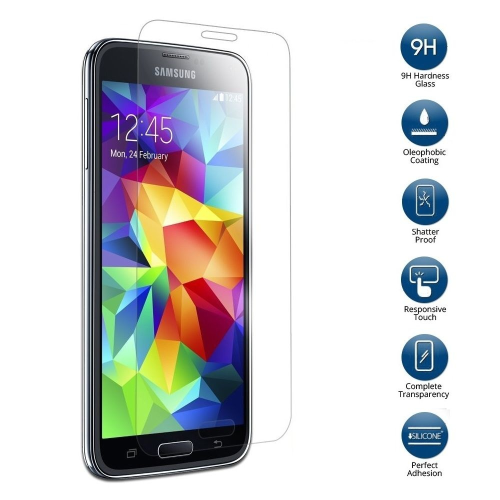 Tempered Glass For Samsung Galaxy S5 Mini Sm G800f P39