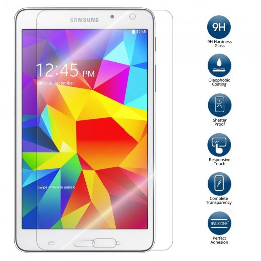 Tempered Glass for Samsung Galaxy Tab 4 7.0""