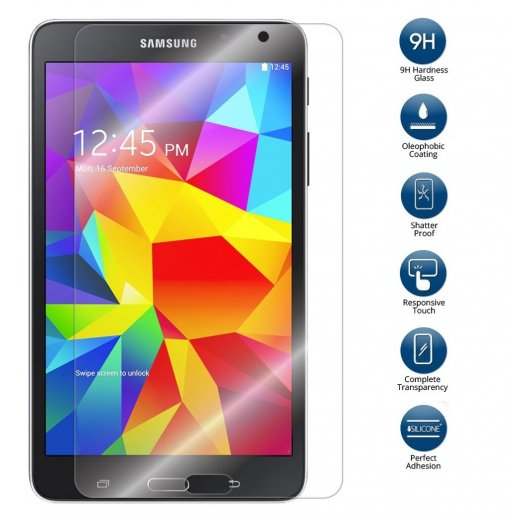 Tempered Glass for Samsung Galaxy Tab 4 8.0""