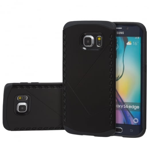 Tough Armour Case for Samsung S6 Edge Black