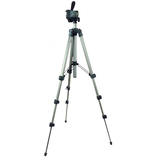 Travellers 4 Level Photo and Video Aluminium Tripod